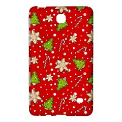 Ginger Cookies Christmas Pattern Samsung Galaxy Tab 4 (8 ) Hardshell Case  by Valentinaart