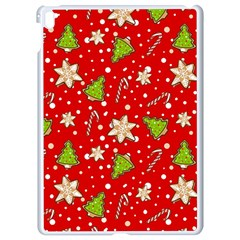 Ginger Cookies Christmas Pattern Apple Ipad Pro 9 7   White Seamless Case by Valentinaart