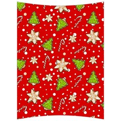 Ginger Cookies Christmas Pattern Back Support Cushion