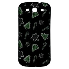 Ginger Cookies Christmas Pattern Samsung Galaxy S3 S Iii Classic Hardshell Back Case by Valentinaart