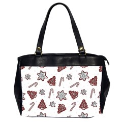 Ginger Cookies Christmas Pattern Office Handbags (2 Sides)  by Valentinaart
