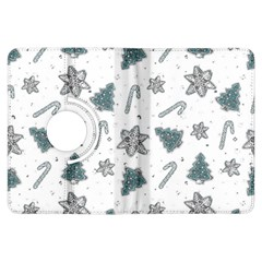 Ginger Cookies Christmas Pattern Kindle Fire Hdx Flip 360 Case by Valentinaart