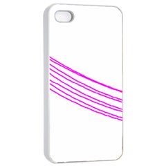 Electricty Power Pole Blue Pink Apple Iphone 4/4s Seamless Case (white) by Mariart