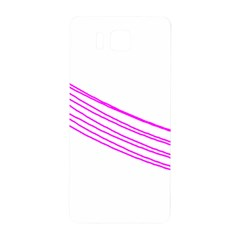 Electricty Power Pole Blue Pink Samsung Galaxy Alpha Hardshell Back Case by Mariart