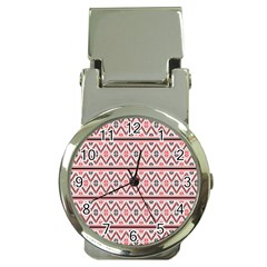 Clipart Embroidery Star Red Line Black Money Clip Watches by Mariart