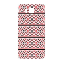 Clipart Embroidery Star Red Line Black Samsung Galaxy Alpha Hardshell Back Case by Mariart