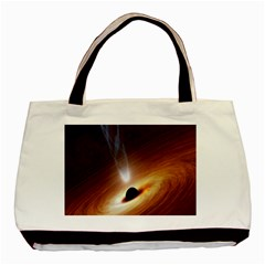 Coming Supermassive Black Hole Century Basic Tote Bag by Mariart