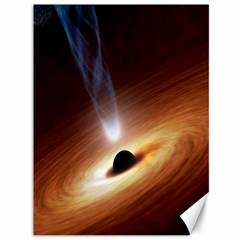 Coming Supermassive Black Hole Century Canvas 36  X 48   by Mariart