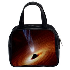 Coming Supermassive Black Hole Century Classic Handbags (2 Sides) by Mariart