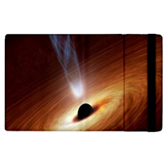 Coming Supermassive Black Hole Century Apple Ipad 2 Flip Case by Mariart