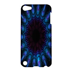 Exploding Flower Tunnel Nature Amazing Beauty Animation Blue Purple Apple Ipod Touch 5 Hardshell Case by Mariart