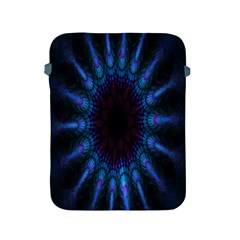 Exploding Flower Tunnel Nature Amazing Beauty Animation Blue Purple Apple Ipad 2/3/4 Protective Soft Cases by Mariart