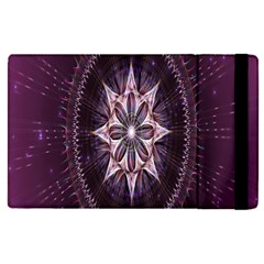 Flower Twirl Star Space Purple Apple Ipad Pro 9 7   Flip Case by Mariart