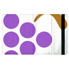 Fruit Grape Purple Apple Ipad Pro 9 7   Flip Case by Mariart