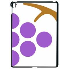 Fruit Grape Purple Apple Ipad Pro 9 7   Black Seamless Case by Mariart