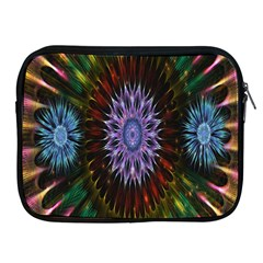 Flower Stigma Colorful Rainbow Animation Gold Space Apple Ipad 2/3/4 Zipper Cases by Mariart