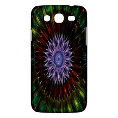 Flower Stigma Colorful Rainbow Animation Gold Space Samsung Galaxy Mega 5 8 I9152 Hardshell Case  by Mariart