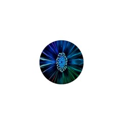 Flower Stigma Colorful Rainbow Animation Space 1  Mini Buttons by Mariart
