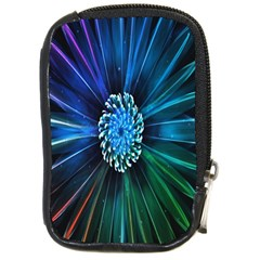 Flower Stigma Colorful Rainbow Animation Space Compact Camera Cases by Mariart