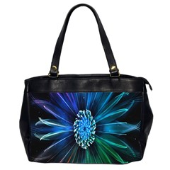 Flower Stigma Colorful Rainbow Animation Space Office Handbags (2 Sides)  by Mariart