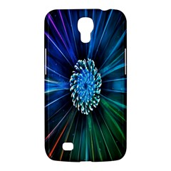 Flower Stigma Colorful Rainbow Animation Space Samsung Galaxy Mega 6 3  I9200 Hardshell Case by Mariart
