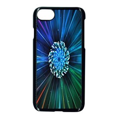 Flower Stigma Colorful Rainbow Animation Space Apple Iphone 7 Seamless Case (black) by Mariart