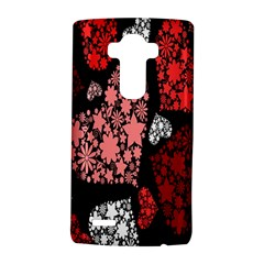 Floral Flower Heart Valentine Lg G4 Hardshell Case by Mariart