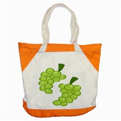 Fruit Green Grape Accent Tote Bag by Mariart