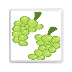 Fruit Green Grape Memory Card Reader (square)  by Mariart