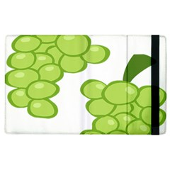 Fruit Green Grape Apple Ipad 3/4 Flip Case by Mariart