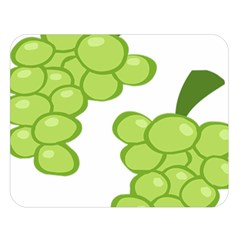 Fruit Green Grape Double Sided Flano Blanket (large)  by Mariart
