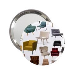 Furnitur Chair 2 25  Handbag Mirrors by Mariart