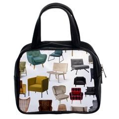 Furnitur Chair Classic Handbags (2 Sides) by Mariart