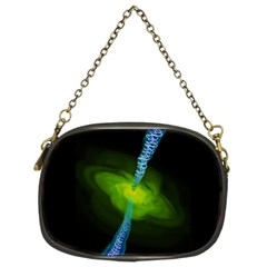 Gas Yellow Falling Into Black Hole Chain Purses (two Sides)  by Mariart