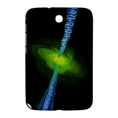 Gas Yellow Falling Into Black Hole Samsung Galaxy Note 8 0 N5100 Hardshell Case  by Mariart
