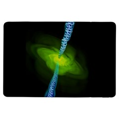 Gas Yellow Falling Into Black Hole Ipad Air Flip by Mariart