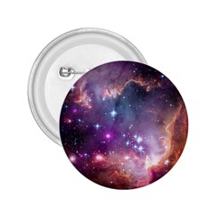 Galaxy Space Star Light Purple 2 25  Buttons by Mariart
