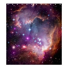 Galaxy Space Star Light Purple Shower Curtain 66  X 72  (large)  by Mariart