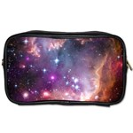 Galaxy Space Star Light Purple Toiletries Bags 2-Side Front