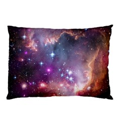 Galaxy Space Star Light Purple Pillow Case (two Sides) by Mariart