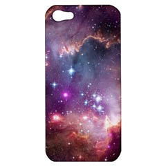 Galaxy Space Star Light Purple Apple Iphone 5 Hardshell Case by Mariart