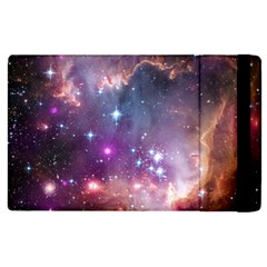 Galaxy Space Star Light Purple Apple Ipad 3/4 Flip Case by Mariart