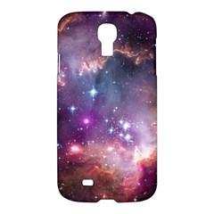 Galaxy Space Star Light Purple Samsung Galaxy S4 I9500/i9505 Hardshell Case by Mariart