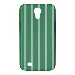 Green Line Vertical Samsung Galaxy Mega 6 3  I9200 Hardshell Case by Mariart