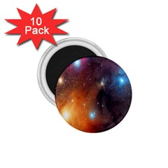 Galaxy Space Star Light 1 75  Magnets (10 Pack)  by Mariart