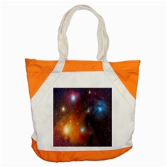 Galaxy Space Star Light Accent Tote Bag by Mariart
