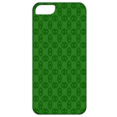 Green Seed Polka Apple Iphone 5 Classic Hardshell Case