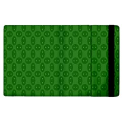 Green Seed Polka Apple Ipad 3/4 Flip Case by Mariart
