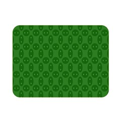 Green Seed Polka Double Sided Flano Blanket (mini)  by Mariart