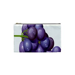 Grape Fruit Cosmetic Bag (small)  by Mariart
